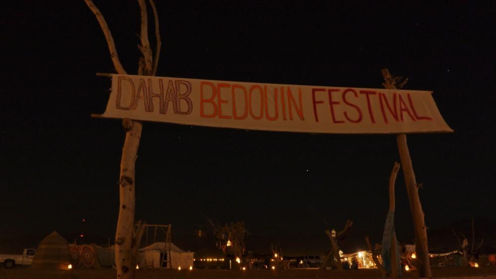 Dahab bedouin festival banner