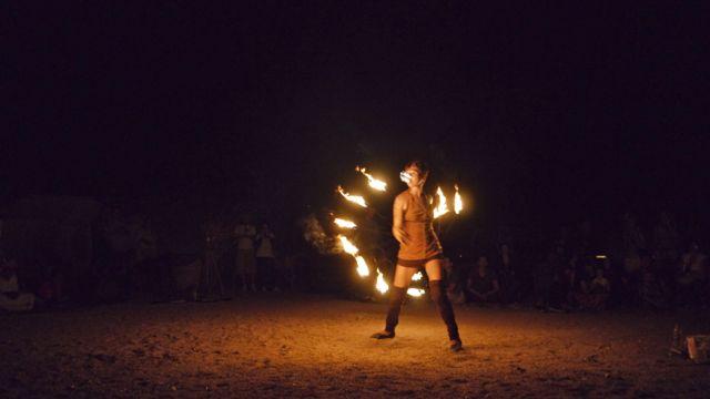 Fire Show Dahab Bedouin Festival 2013