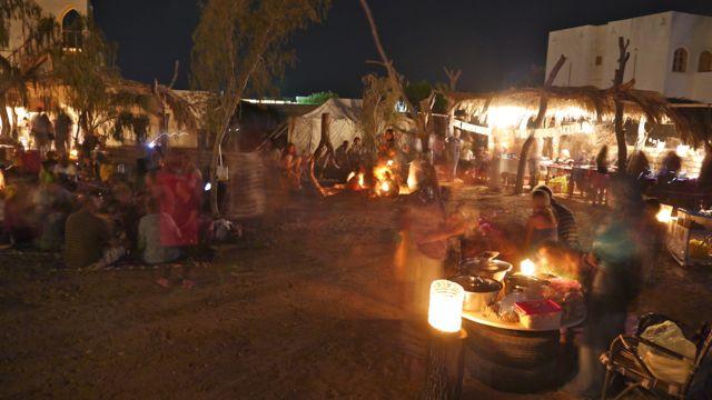 Night life Dahab Bedouin Festival 2014